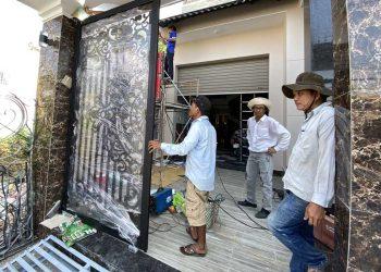 Thiết bị cửa cổng tự động 500kg tại Vũng Tàu