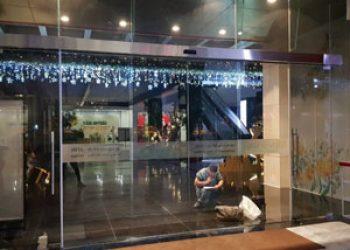 Cửa kính tự động Văn phòng Cty