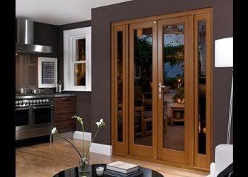 Mẫu cửa kính khung gỗ đẹp